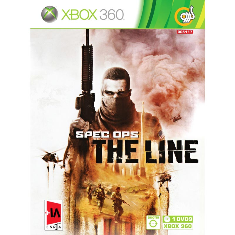 Spec Ops The Line XBOX 360 گردو
