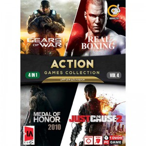 ACTION GAME COLLECTION Vol.4 PC 1DVD9 گردو