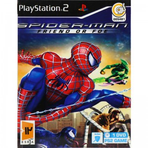 SPIDERMAN FRIEND OR FUE PS2 گردو