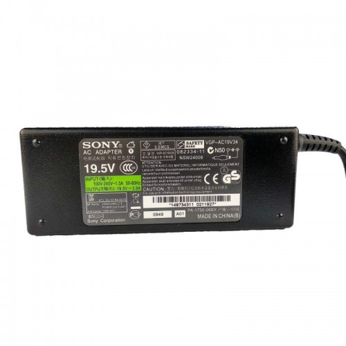 Sony PA-1750-09SY 19.5V 3.9A Laptop Charger