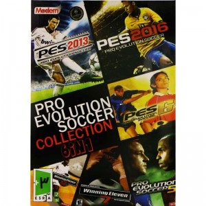 PES Collection 6in1 PC 2DVD5 مدرن