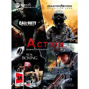 Action Games Collection 11 PC 2DVD9 پرنیان