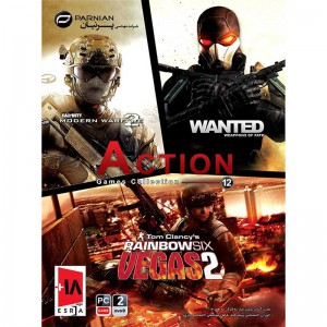 Action Games Collection 12 PC 2DVD9 پرنیان