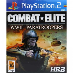 COMBAT ELITE WWII PARATROOPERS HRB PS2