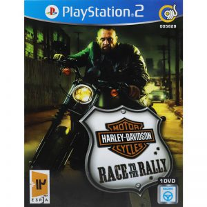 Harley-Davidson Motorcycles Race To The Rally PS2 گردو