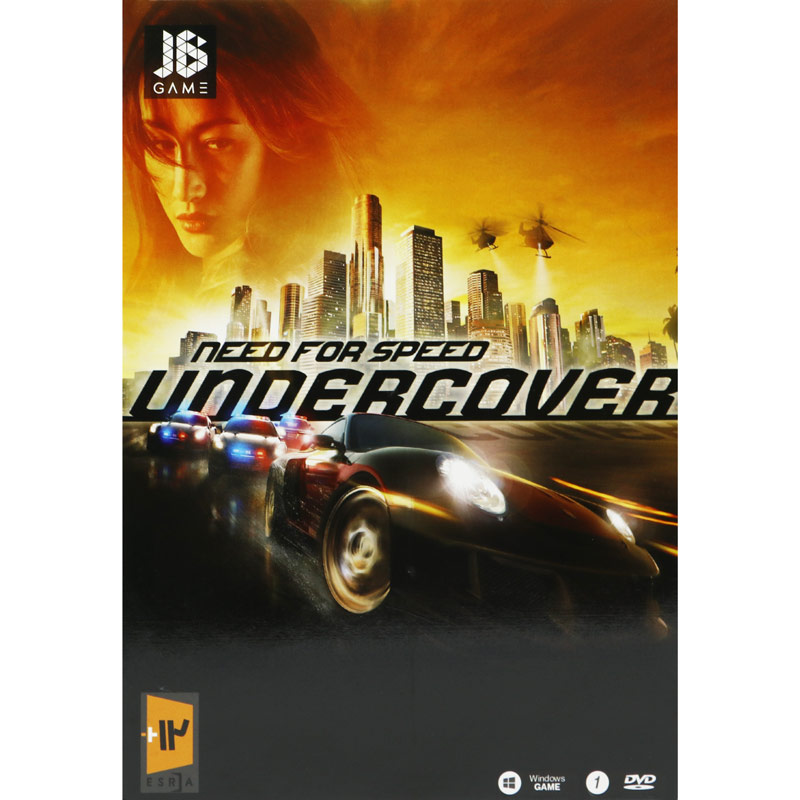 Need For Speed Undercover PC 1DVD JB-TEAM