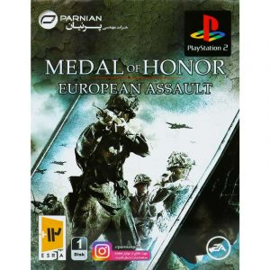 Medal of Honor European Assault PS2 پرنیان