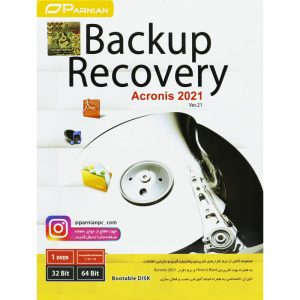 Backup Recovery Ver.21 + Acronis 2021 1DVD9 پرنیان