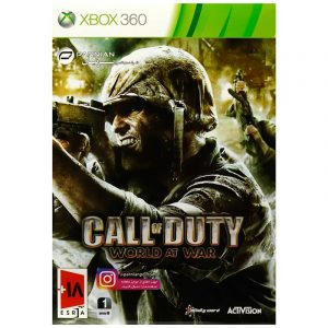Call Of Duty World At War XBOX 360 پرنیان
