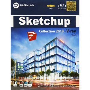 SketchUp Collection 2018 + V-Ray Ver.6 1DVD9 پرنیان