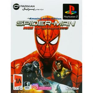 Spider-Man Web of Shadows PS2 پرنیان