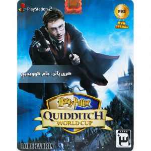 Harry Potter Quidditch World Cup PS2 لوح زرین