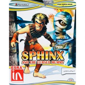 Sphinx and the Cursed Mummy PS2 لوح زرین