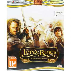 The Lord of the Rings The Fellowship of the Ring PS2 لوح زرین